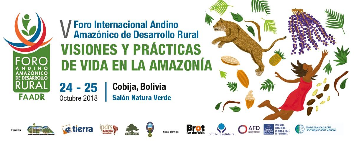 Quinto Foro Andino Amazónico de Desarrollo Rural