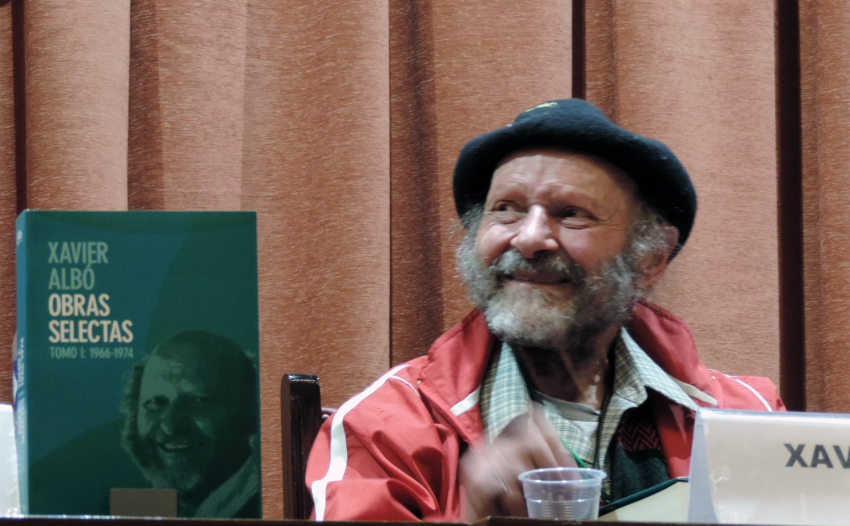 Xavier Albó presenta los dos primeros tomos de sus Obras Selectas