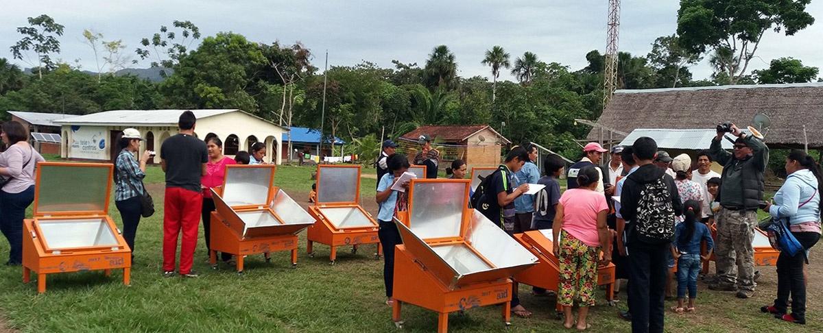 Las cocinas solares: tecnología ecológica que utilizan los pueblos indígenas y Campesinos de la Amazonia Sur