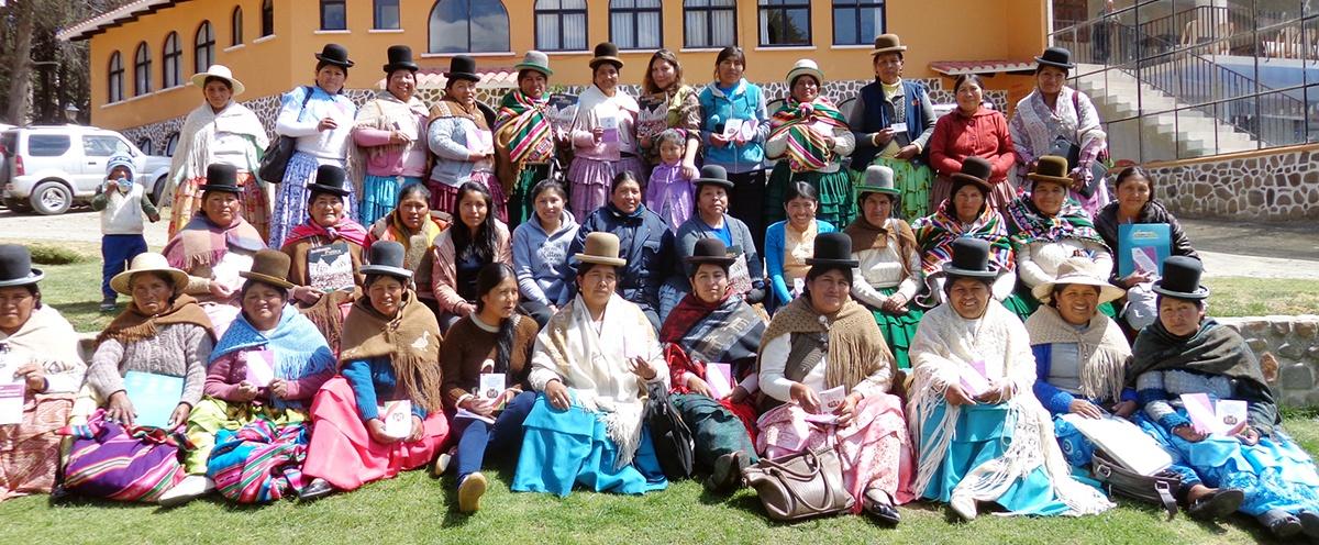 Lideresas del Altiplano paceño debatieron sobre la participación política de las mujeres