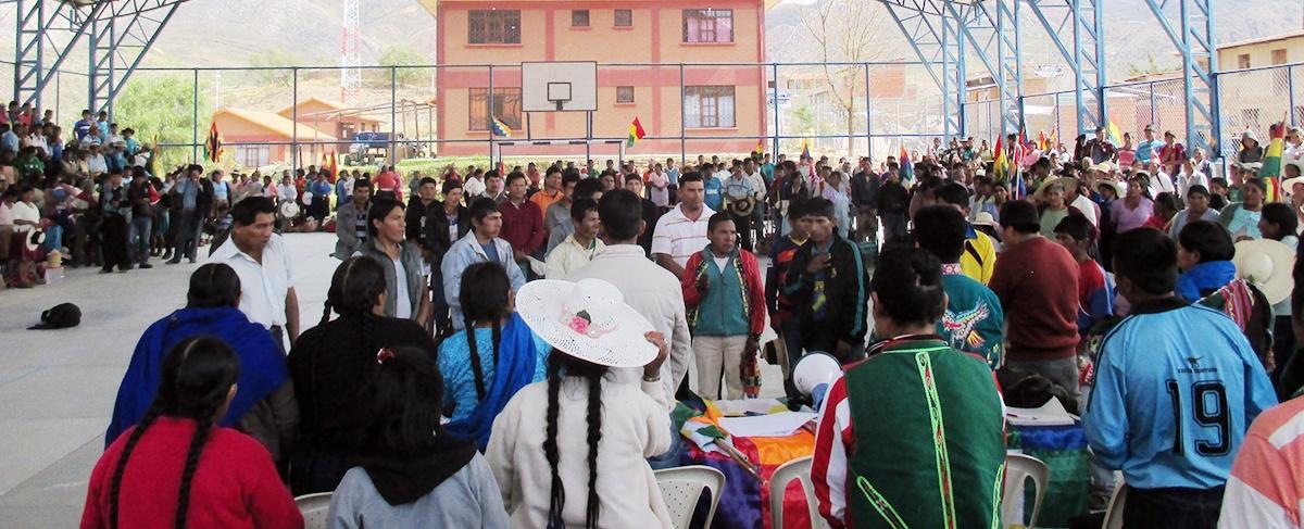 Central campesina mixta y de mujeres de Torotoro definen sus agendas estratégicas y renuevan sus directivas