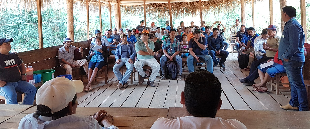 Indígenas del norte amazónico evalúan propuestas para la gestión del territorio y exigen la promulgación de la Ley de la Amazonía