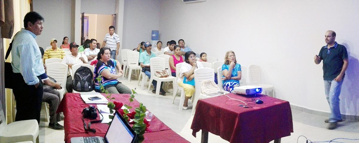 Productores de la Amazonía analizan propuesta de desarrollo productivo en un encuentro de emprendedores