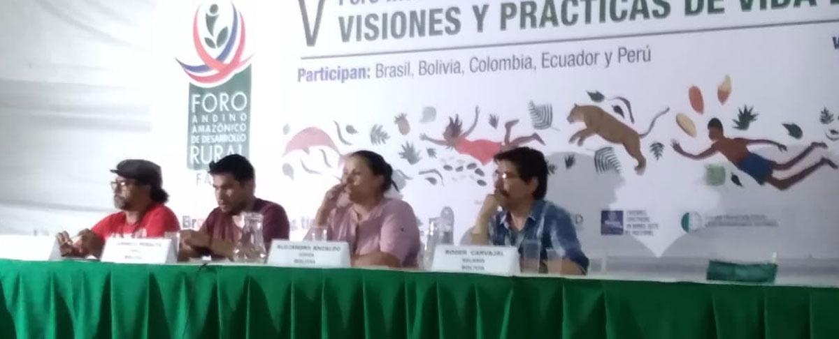 Organizaciones develan la desarticulación de las instituciones, decisores y academia respecto al desarrollo amazónico