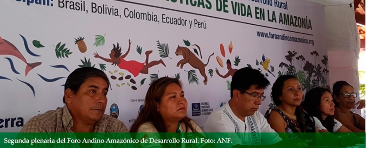 Dirigentas indígenas observan desencuentro entre planeación estatal y comunal en la Amazonía
