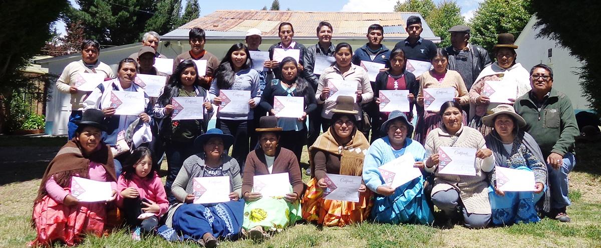 Culmina proceso de formación de líderes en el departamento de La Paz