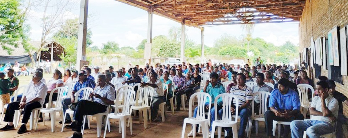 Comunidades indígenas de San Ignacio de Velasco reciben títulos de propiedad en el XVIII aniversario de la ACISIV