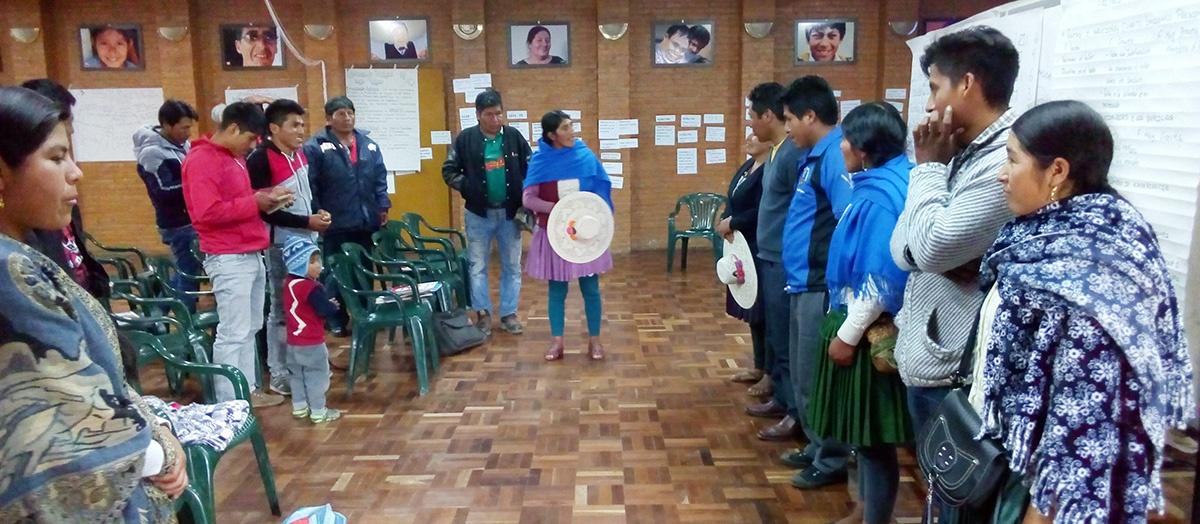 Líderes del Norte de Potosí inician programa de formación en democracia intercultural y control social