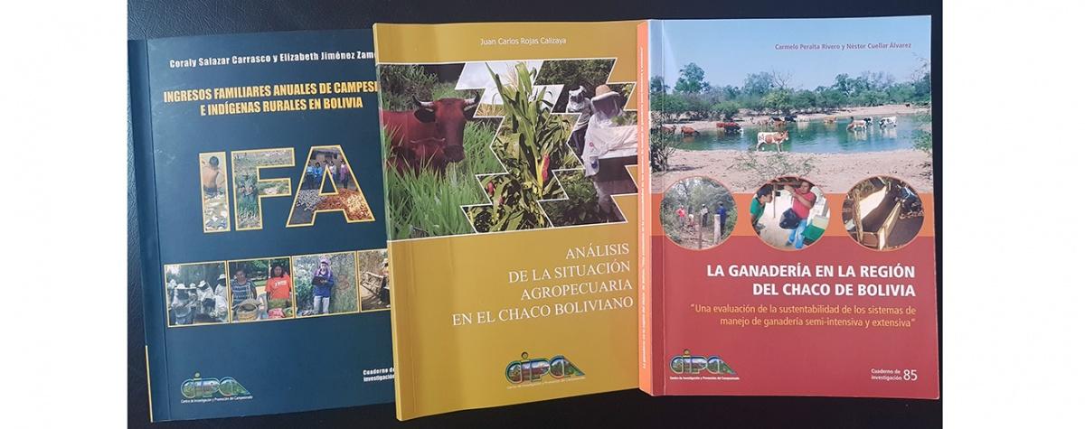 CIPCA  presenta hoy sus últimas investigaciones sobre desarrollo rural en el auditorio IINCISO de la UMSS