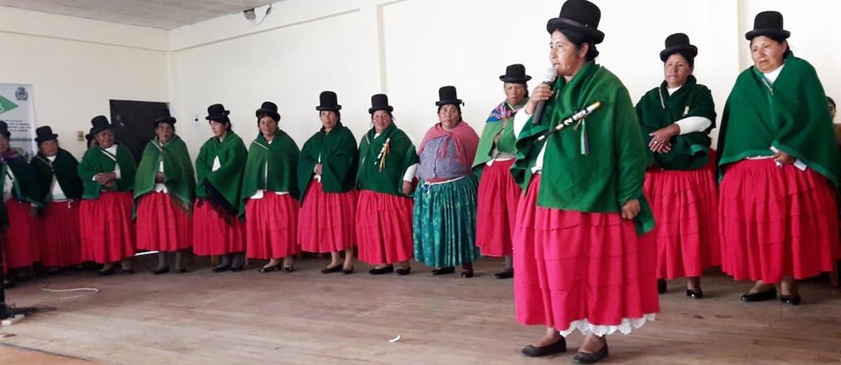 Mujeres de Taraco reflexionaron  sobre su aporte productivo, orgánico y político al municipio