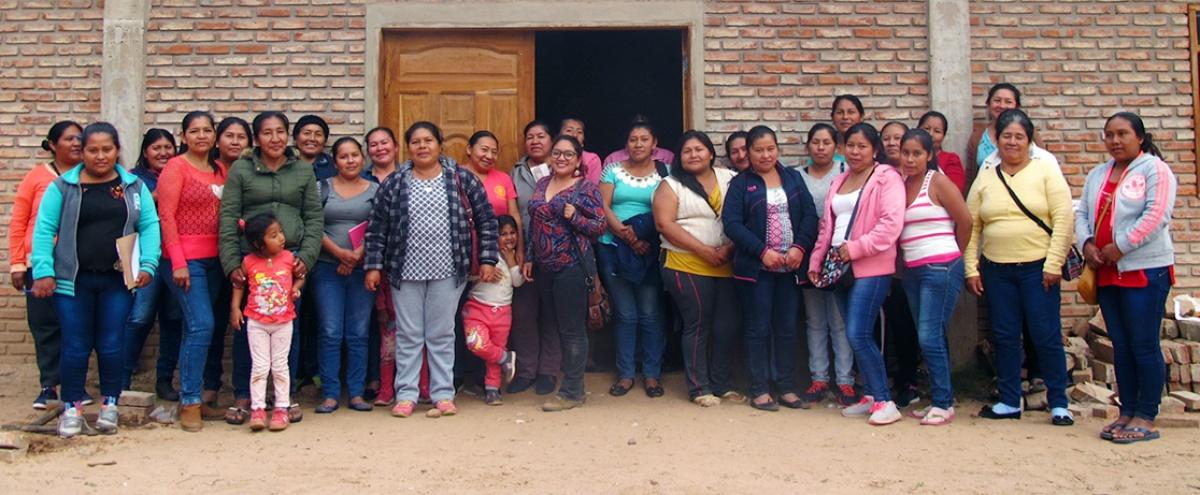 Mujeres guaraní de la zona Parapitiguasu definen su agenda estratégica