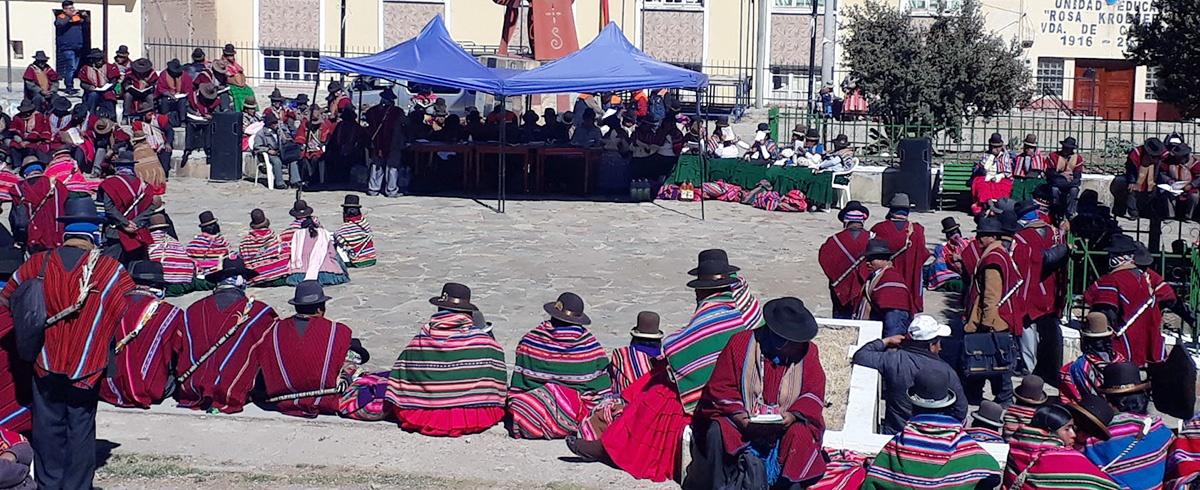 Gobierno Municipal de Calamarca hizo rendición de cuentas sobre la gestión de recursos públicos