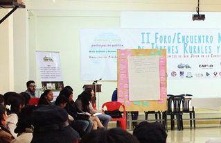 Conclusiones: Participación política de la Juventud Boliviana en el II Foro Nacional de Jóvenes