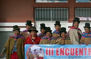 Mujeres del altiplano exigen recursos para mitigar los efectos del cambio climático