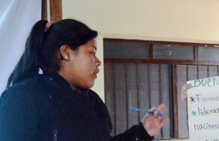 Jóvenes guaranís y el Foro de la Juventud de la Isla de Montreal debatieron sobre la participación ciudadana