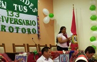 CIPCA Regional Cochabamba recibe reconocimiento del Gobierno Municipal de Torotoro