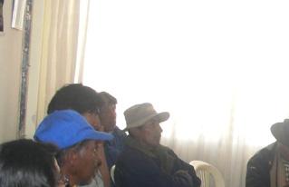 Se realizó primer módulo  de capacitación en desarrollo rural integral en el Altiplano Sur