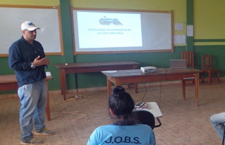 Comunidades de Beni y Pando intercambiaron experiencias en gestión territorial