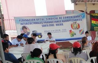 Se conformó el Concejo de Pequeños Productores del Oriente Boliviano dirigido por el Bloque Oriente