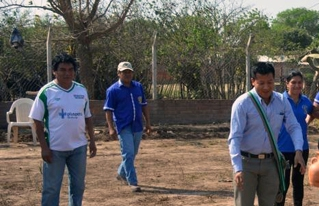 Inició la construcción del Centro de Acopio y Comercialización de miel  en Charagua