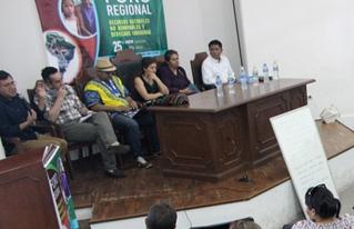 Se realizó Foro Regional sobre recursos naturales no renovables y derechos indígenas
