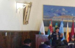 En Oruro analizan medidas para enfrentar el cambio climático