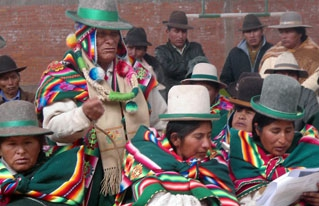 Nación Originaria Suyu Jach´a Karangas analizó la aplicación de la CPE a 7 años de su aprobación