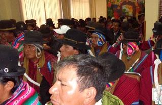 Analizan la elaboración de Planes Territoriales de Desarrollo Integral