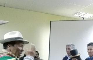 Mesa Técnica de Camélidos del departamento de La Paz fortalecerá la cadena productiva