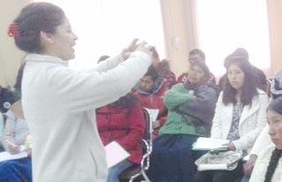 Jóvenes rurales fortalecen sus capacidades de planificación territorial