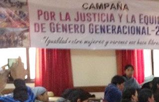 Mujeres rurales de Potosí y Cochabamba piden implementar las leyes a su favor para avanzar hacia la justicia y la equidad de género
