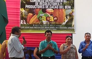 IV Congreso de Cacao en Beni aprueba el Plan departamental de cacao nativo y elige su nuevo directorio