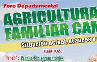 En foro departamental analizarán la situación actual de la agricultura familiar campesina en La Paz