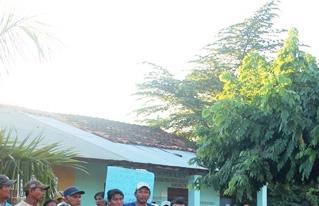 Ante la falta de respuestas de las autoridades,  los Zafreros castañeros intensifican sus medidas de presión