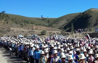 Raqaypampa elige autoridades de su gobierno indígena