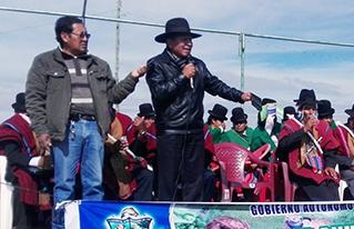 Producción agroecológica bajo riego resalta  en la  expo feria del municipio de Taraco