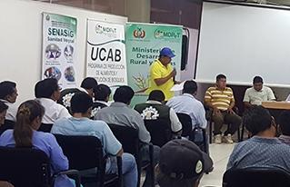 Productores participan de socialización de programas productivos en la Amazonía