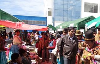 Se promueve la producción agroecológica a través de la primera feria departamental de La Paz