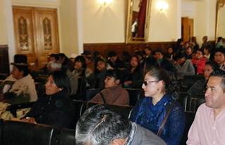 En Oruro analizan la problemática del ejercicio de los derechos humanos en un Foro