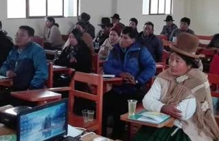 Jóvenes del municipio de Batallas se forman como líderes sociales y productivos