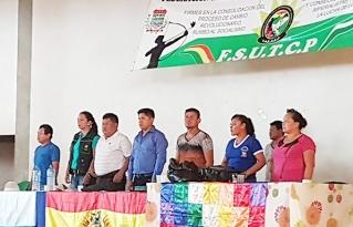 Trabajadores campesinos de Pando realizan informe de su agenda estratégica gestión 2017-2018