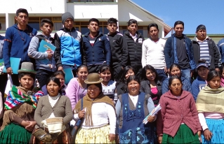 Jóvenes rurales fortalecen sus capacidades de liderazgo