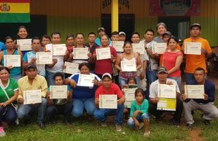 ORGANIZACIONES DE LA AMAZONÍA FINALIZAN 2 AÑOS DE PROCESO DE FORMACIÓN DE LIDERAZGO GESTIÓN 2017 - 2018