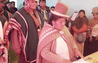 San Pedro de Totora inició el proceso de elaboración de su ley de  gestión de riesgos