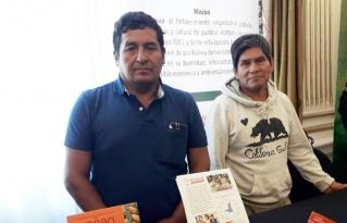 Productores de la APARAB ganadores del Cocoa Awars Interacional participaron del lanzamiento del torneo de cacaos especiales de Bolivia