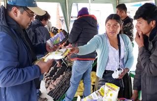 Torotoro presentó su potencial en la VII Feria Productiva Agropecuaria departamental de Potosí