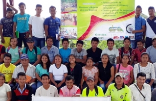 Jóvenes del Territorio Indígena Multiétnico iniciaron proceso de formación de líderes
