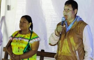 Líderes del TIPNIS recibieron la sentencia del Tribunal Internacional por los Derechos de la Naturaleza