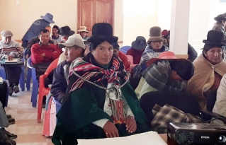 Líderes inician capacitación en ganado camélido y desarrollo rural integral en el municipio San Andrés de Machaca