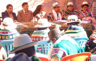 Autoridades originarias de Oruro exigen mayor coordinación entre la jurisdicción ordinaria y la indígena